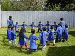 La función lúdica del lenguaje en las canciones populares infantiles -parte1-